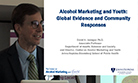 Alcohol Forum Conference: David Jernigan: Alcohol Marketing and Youth