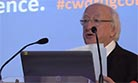 Citywide 20th Anniversary Conference: President of Ireland, Michael D. Higgins