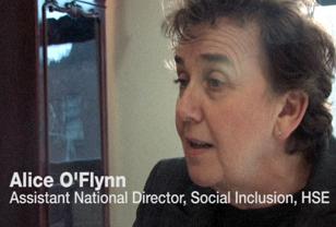 Alice O'Flynn, HSE Social Inclusion