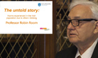 Prof Robin Room: The untold story